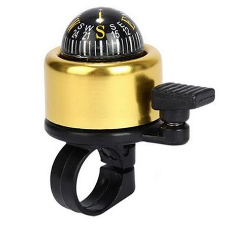 Kolesarski zvonec s kompasom