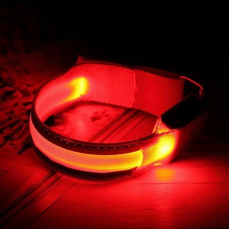 LED odsevnik za tekače in kolesarje