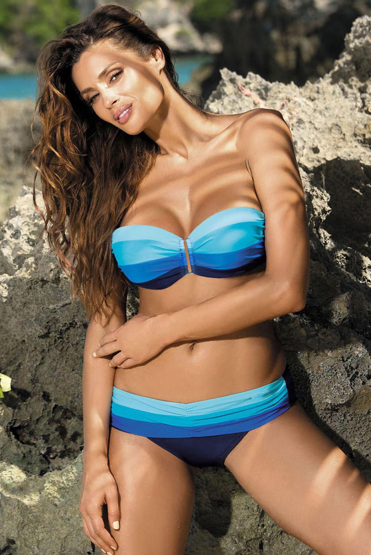 Bikini push up kopalke ANASTASIA Blue