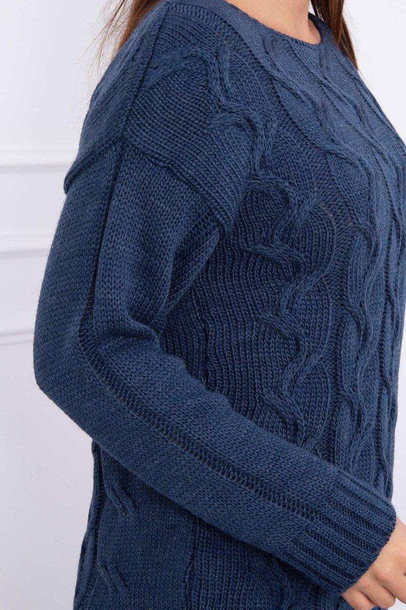 Pleten oversize pulover