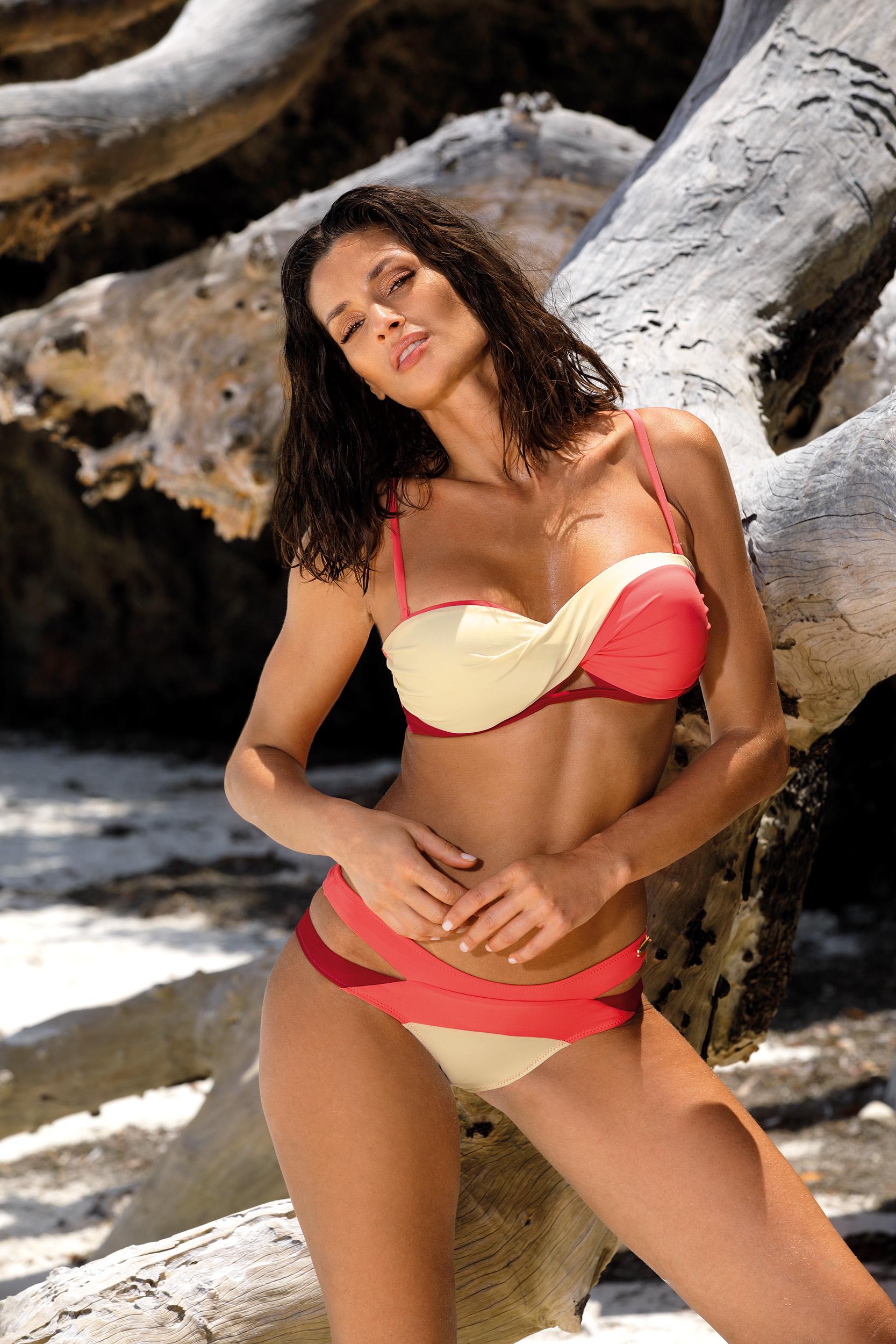 Ženske kopalke Selena Semifreddo-Vanilla-Picadily