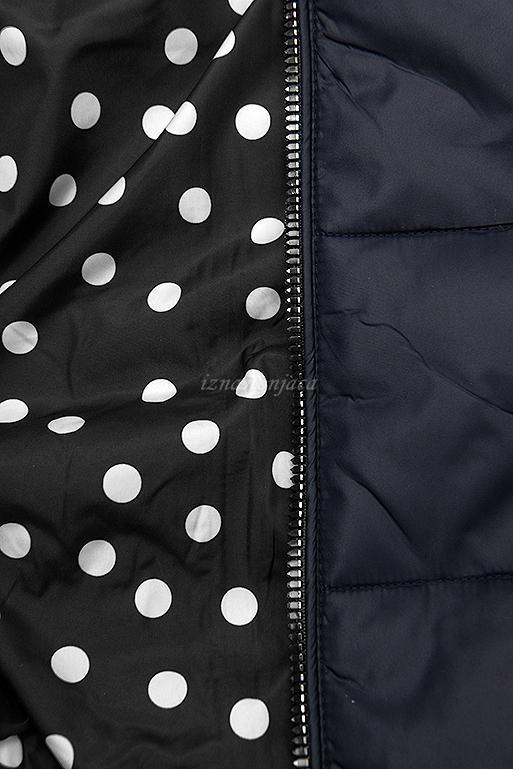 Obojestranska prehodna jakna s pikami