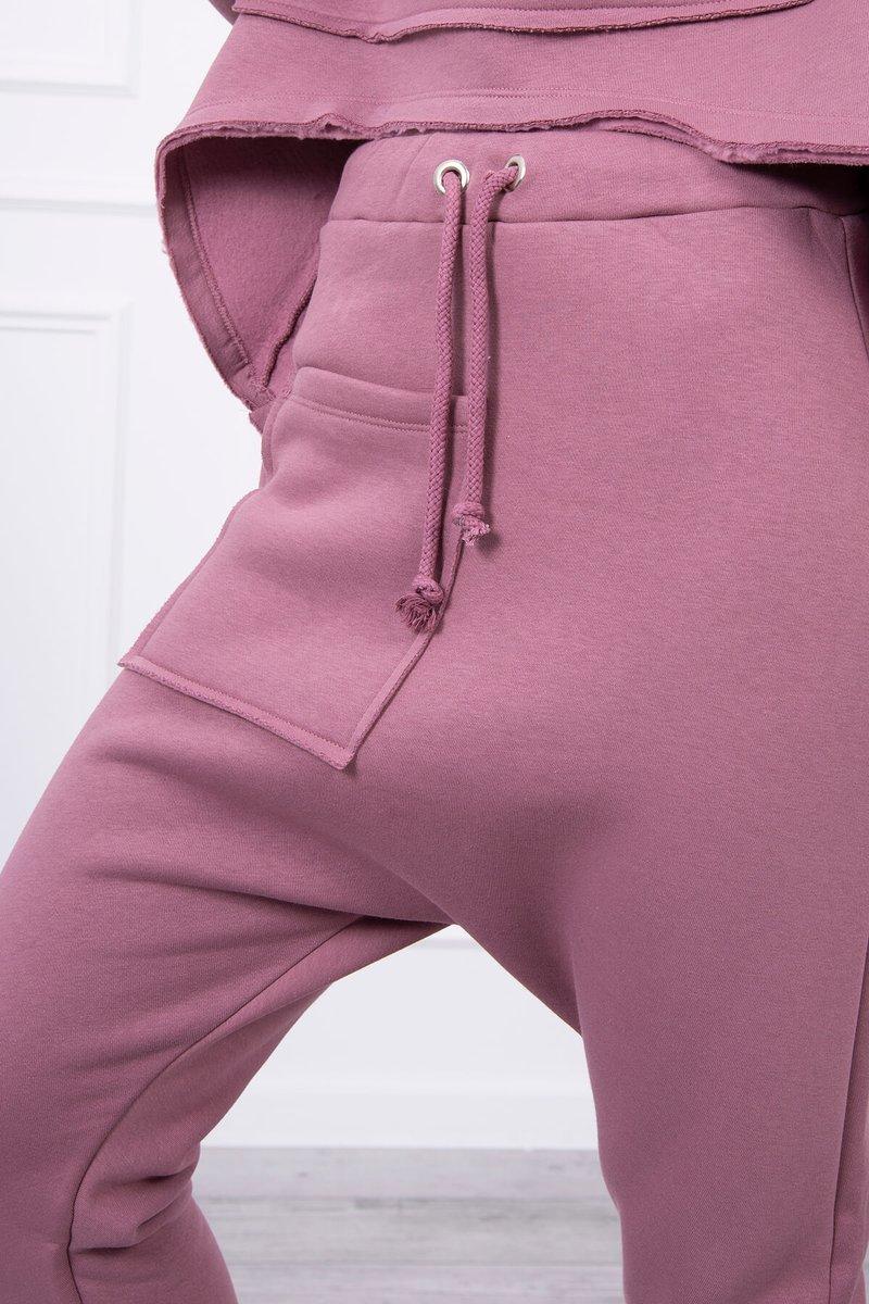Ženski komplet z baggy hlačami