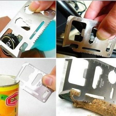 Večnamensko orodje (nož, žaga, odpirač ...)