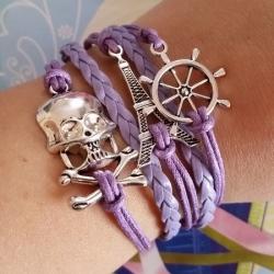 Infinity zapestnica vijolična - Eifflov stolp