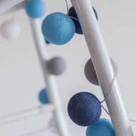 Bombažne lučke na vrvici ♥SAILOR BLUE♥