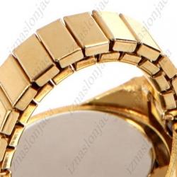 Ženska Quartz prstan ura z motivom leoparda