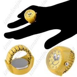 Ženska Quartz prstan ura 'smejko'