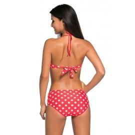 Ženske bikini kopalke KLEMENTINA Red