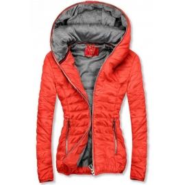 Ženska kratka športna jakna DL011, oranžna