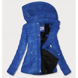 Prešita jakna s snemljivo kapuco W351, modra