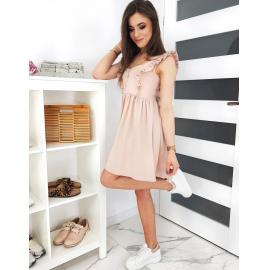 Obleka VALENCIA EY1191, svetlo roza