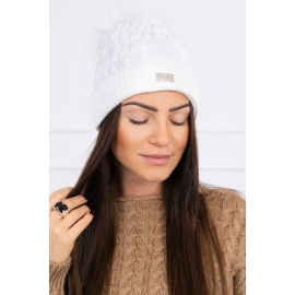 Ženska kapa K160, bela