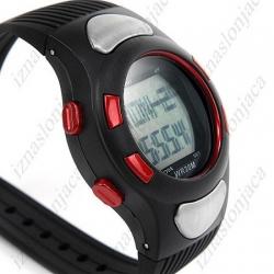 Ročna digitalna ura z merilcem srčnega utripa