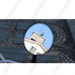 Vzvratno ogledalo za kolo